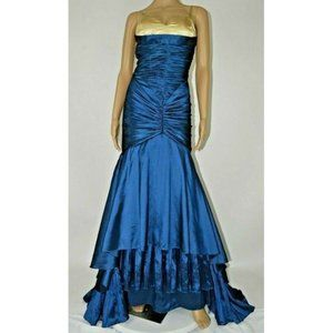 Beauty James (Madison James) Long Formal Gown Teal